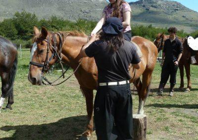 Horseback-riding Laguna Sofía