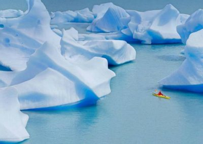 Kayaking Grey Glacier
