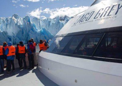 Navigation to Grey Glacier