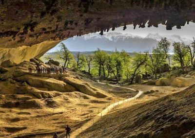 The Three Caves of Milodon
