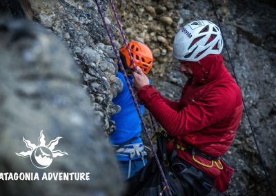 Escalada en roca. Foto: Alan Oyarzo