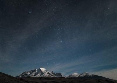 Macizo Nocturno. Foto: Alan Oyarzo