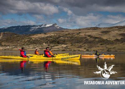 Kayak Fiordo Eberhard. Foto: Alan Oyarzo